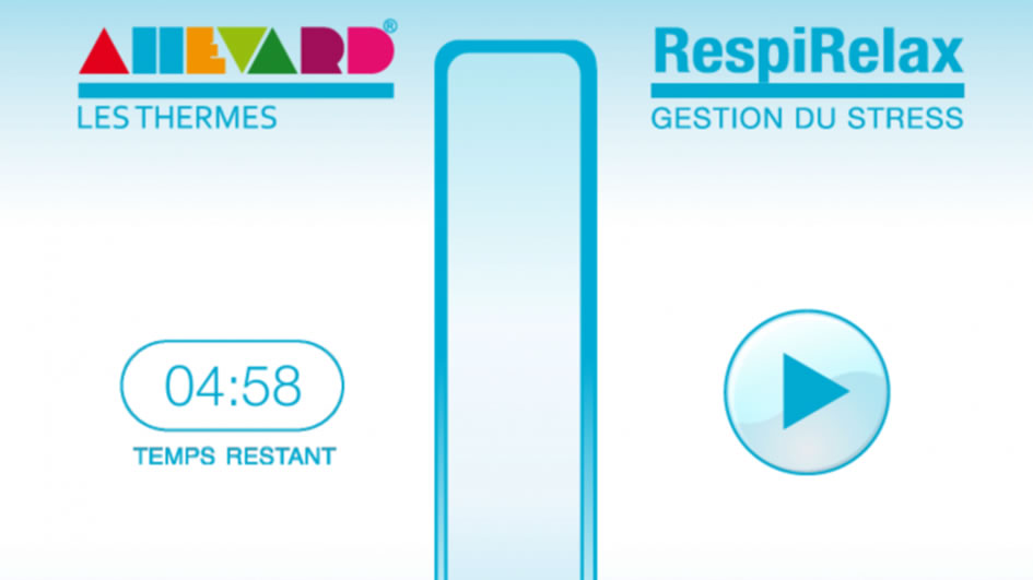 RespiRelax: une application qui vous aide à respirer
