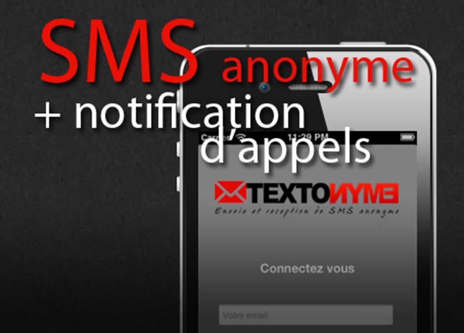 Textonyme: envoyer des sms anonymement