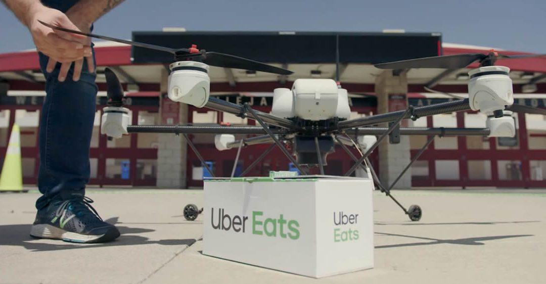 Uber Drones livrera des repas cet été !