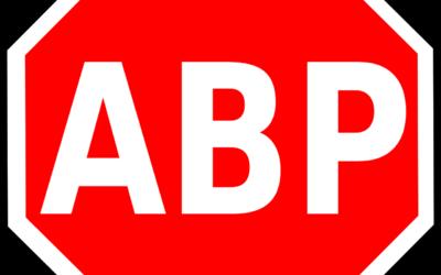 Adblock : Mettez le en pause