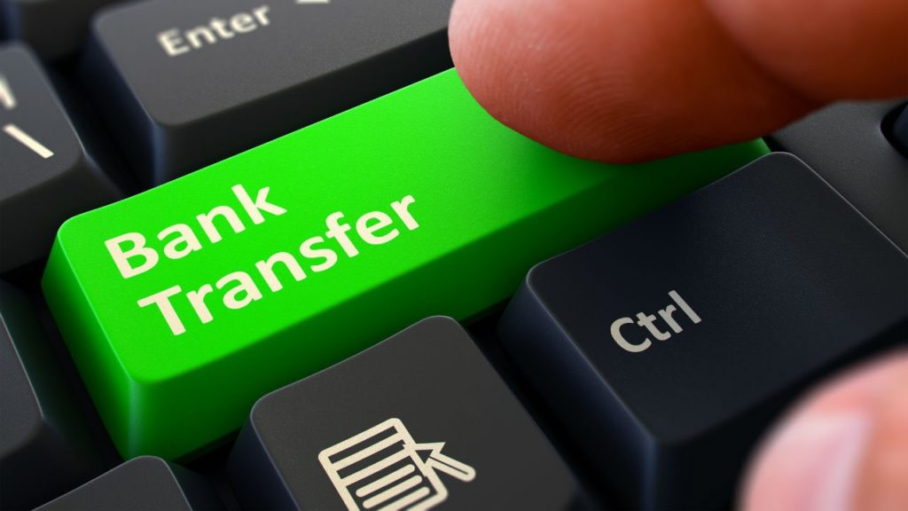 bank transfert