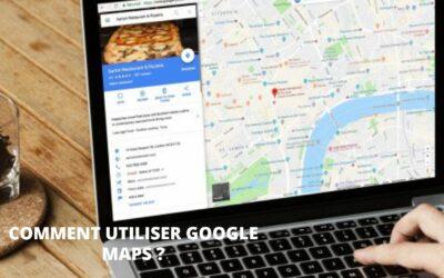 Utiliser Google Maps pour vos déplacements et activités quotidiens