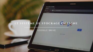 Utiliser Drive de Google pour stocker des données en ligne