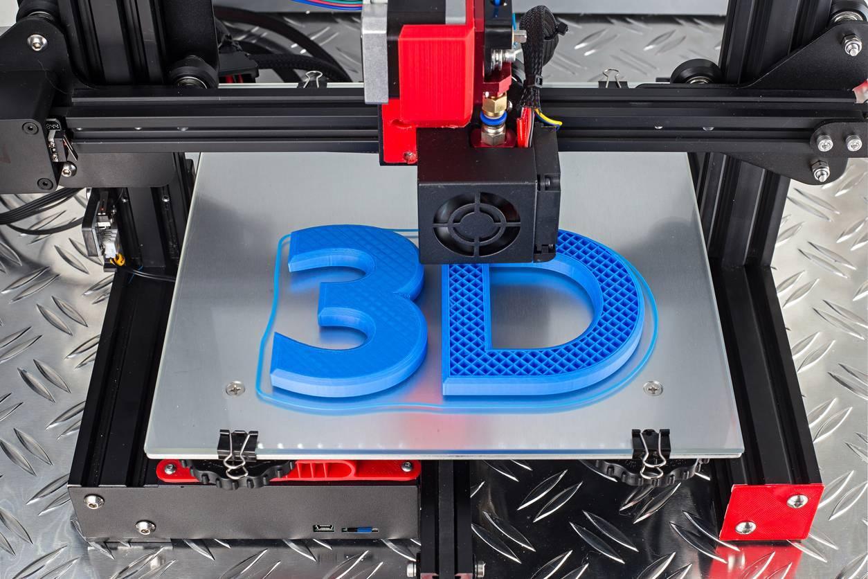 création figurine, imprimante 3D