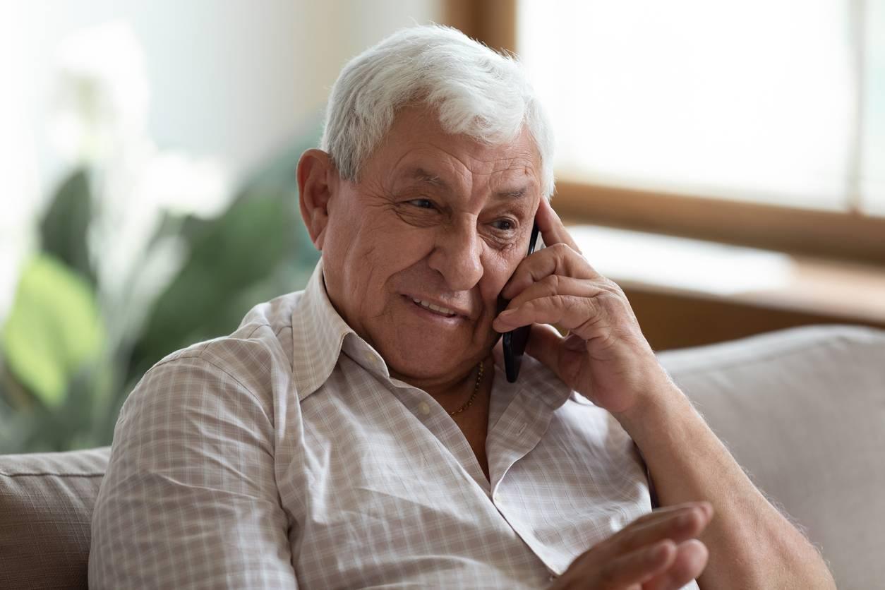 Téléphone pour séniors
