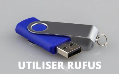 Créer un support Bootable avec Rufus
