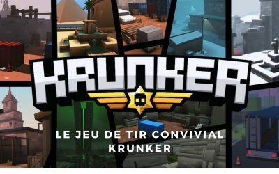 Jouez à Krunker, ce jeu au design rétro