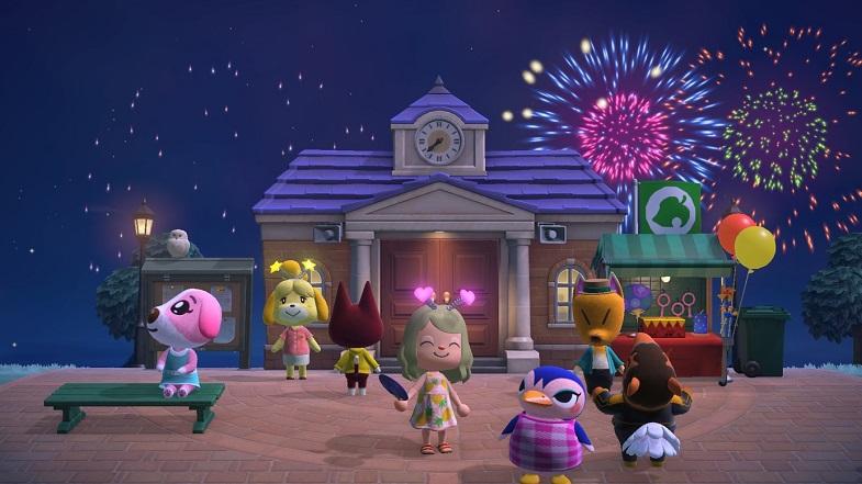 jeu Animal Crossing New Horizons